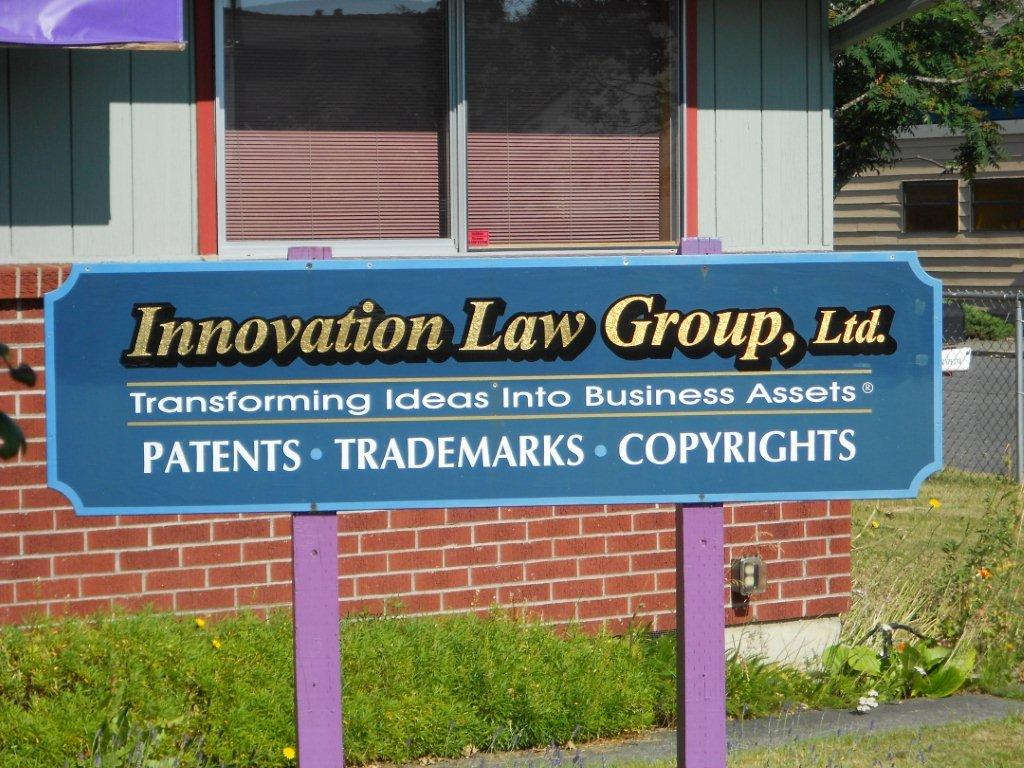 Innovation Law Group Office Sign
